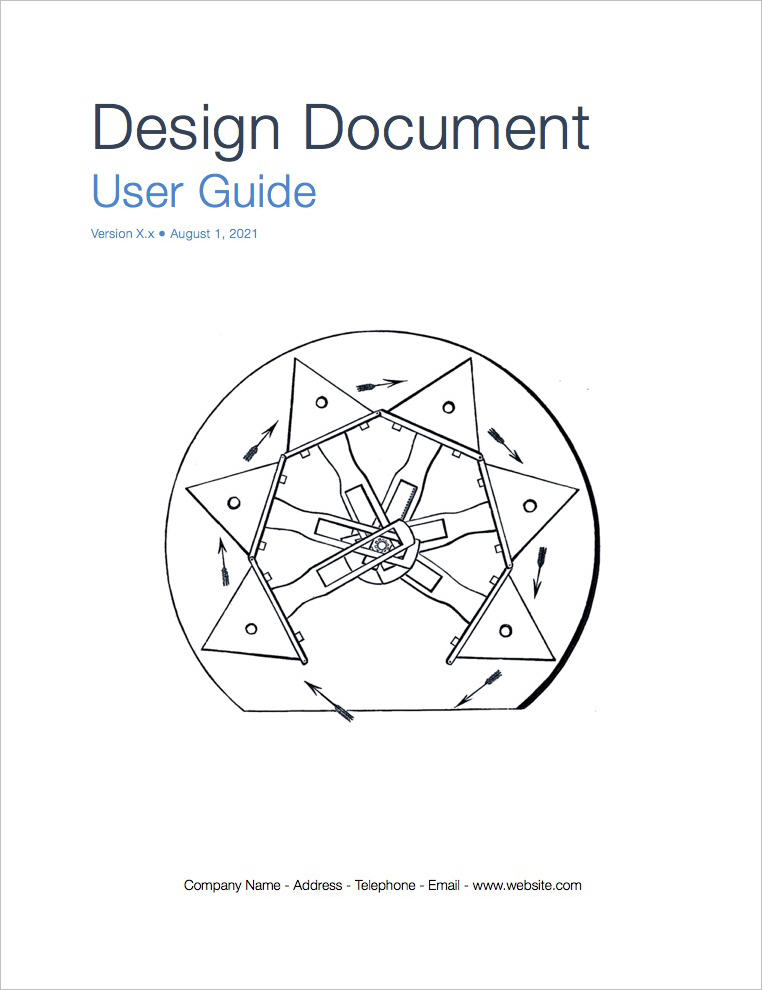 Design_Document_template-coverpage