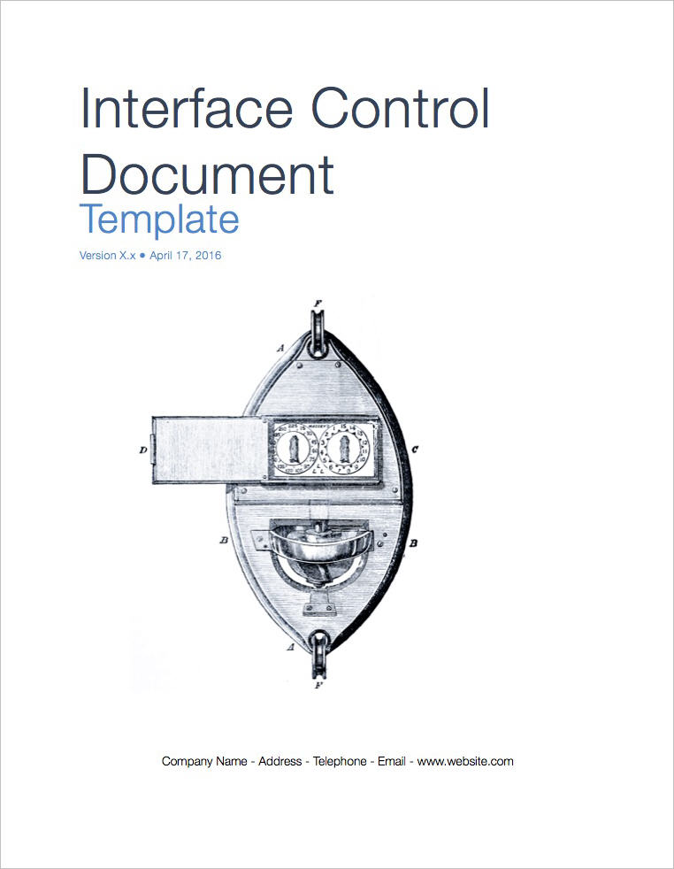 Interface_Control_Document_template_coverpage