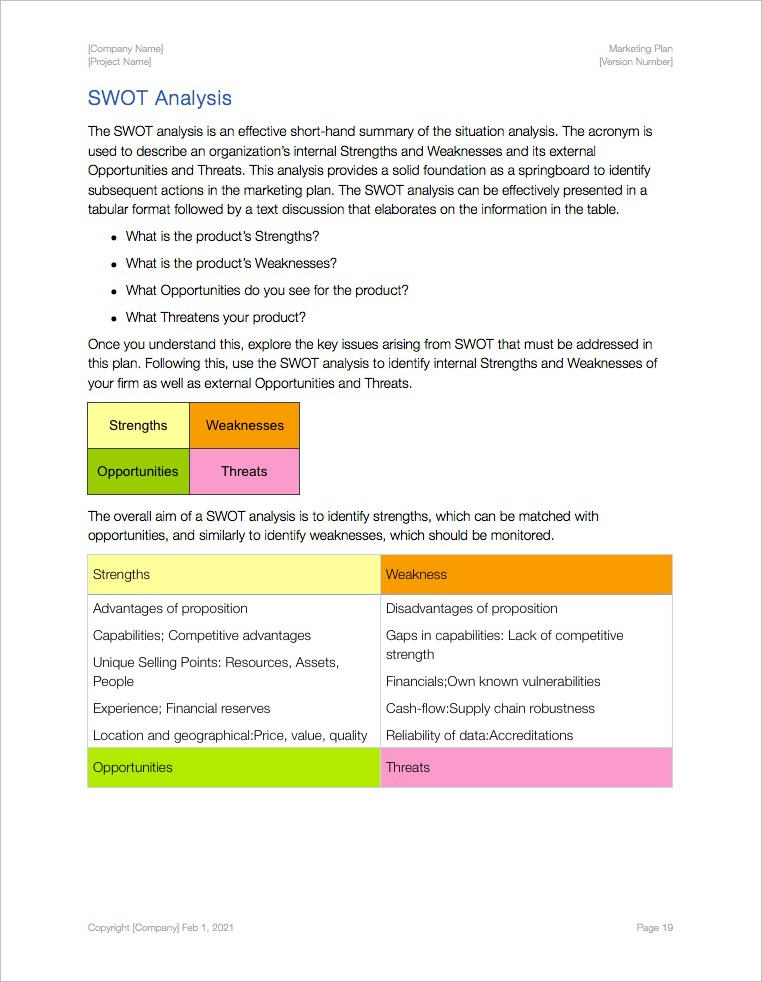 Marketing_Plan_Template_Apple_iWork_Pages_Numbers_SWOT