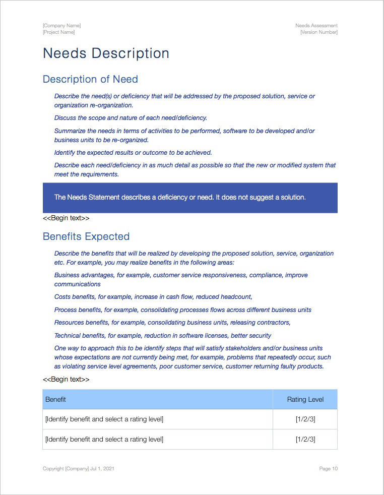 Needs_Assessment_Pages_Template_Apple_iWork_Pages_Numbers_Benefits