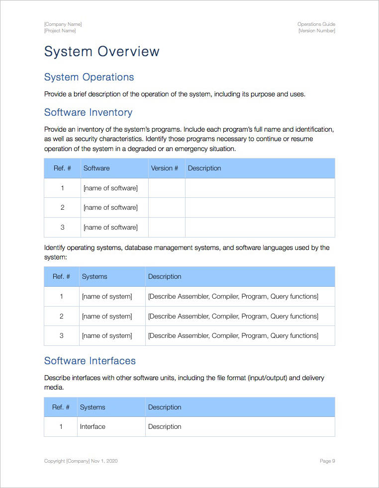 Operations_Guide_Template_Apple_iWork_Pages_Numbers_System_Inventory