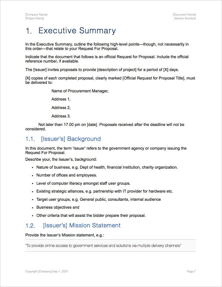 Request-For_Proposal-Template-Apple-iWork-Pages-Introduction