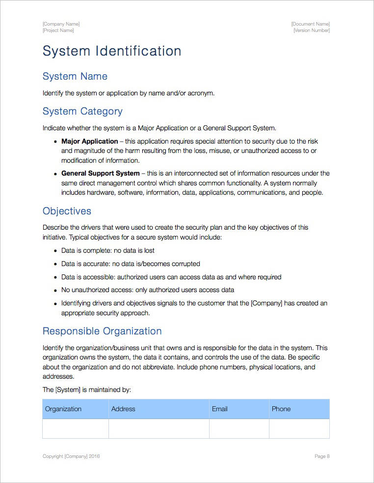 Security-Plan-Template-Apple-iWork-Architecture