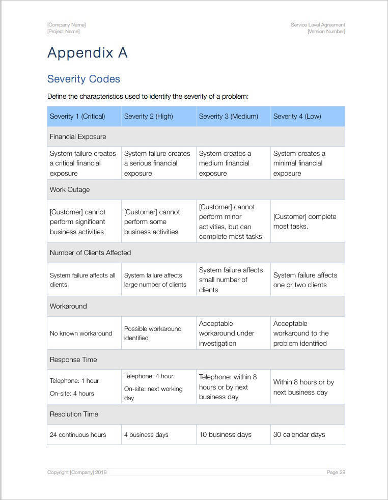 Service-Level-Agreement-Apple-Template-Pages-Numbers-Severity-Codes