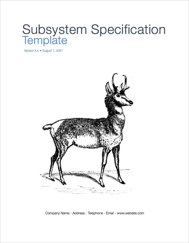 System_Subsystem_Specification_coverpage