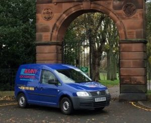 a picure of Albany locksmith Van