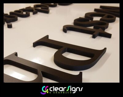 10mm thick Foamex Lettering - Flush Fitted 2 (1)
