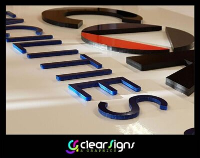 10mm thick flush fitted acrylic logo 2 (1)