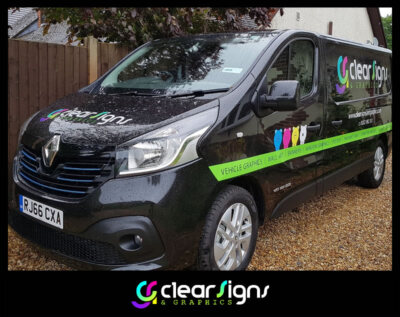 CLEAR Signs  Graphic Van Graphics