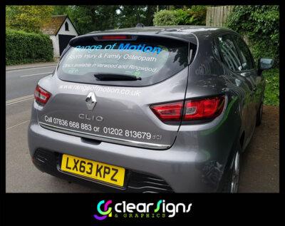 Car Graphics - Screen Graphics