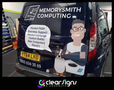 Caricature Vehicle Graphics - Verwood - MemorySmith Computers