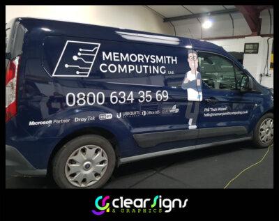 Caricature Vehicle Graphics - Verwood - Phil - MemorySmith Computer
