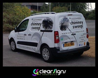Citroen Berlingo - Chimney Sweep - Vehicle Graphics