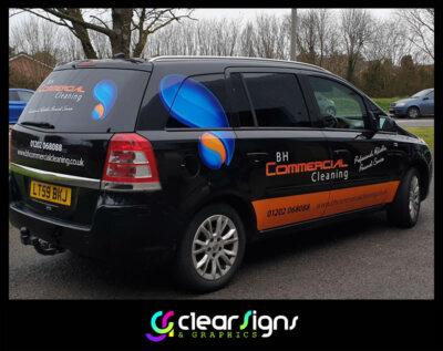 Commercial Car Graphics - Dorset