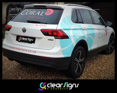 Coral Interiors - VW Tiguan - Vehicle Graphics