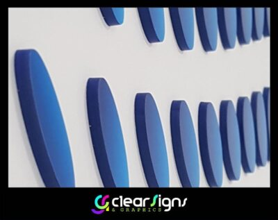 Flat Cut Perspex Logo - Flush Fitted - Bournemouth Dorse (1) (1)
