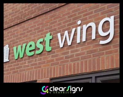 Flat Cut Stainless Steel Signage - Poole - Dorset (1) (1)
