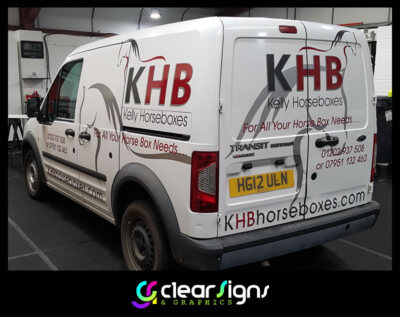 Ford Connect - Vehicle Graphics - Sign Writing - Dorset