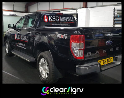 Ford Ranger   Vehicle Graphics - Sign Writing