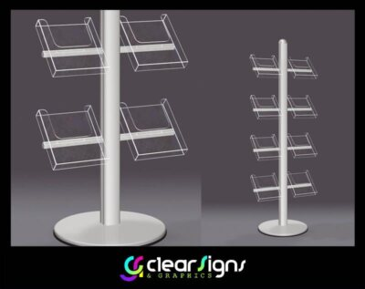 Free Standing Brochure Stand