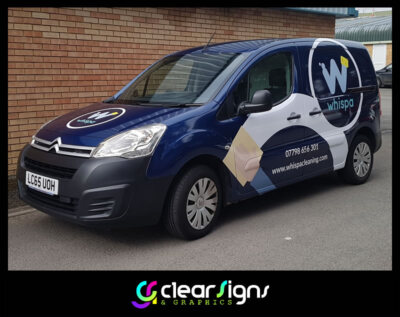 Full Vehicle Wrap, Van Vehicle Graphics, Sign Written Writing