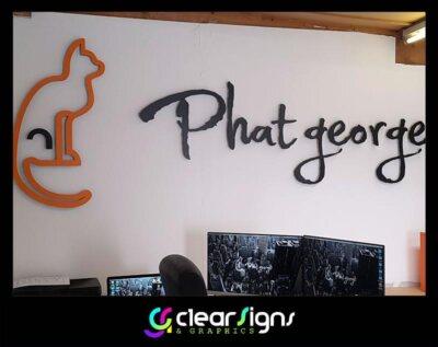George - Logo - Wall Art - Interior Signs  Branfing (1) (1)