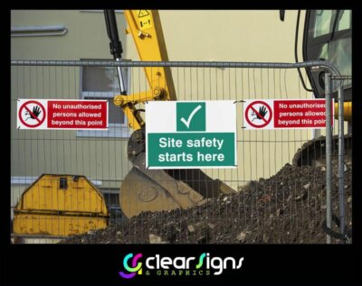 Heath and Safety Signs Heras Fencing (1)