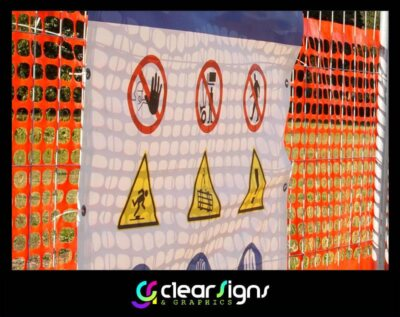 Heath and Safety Signs Temporary Heras Barrier (1)