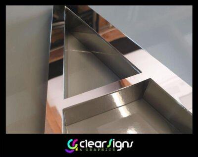 Mirror Polise Built Up Stainless steel letters - Premium - Dorset (1) (1)