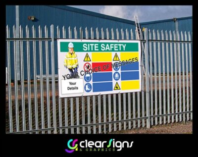 Multi Message Health and Safety Sign P
