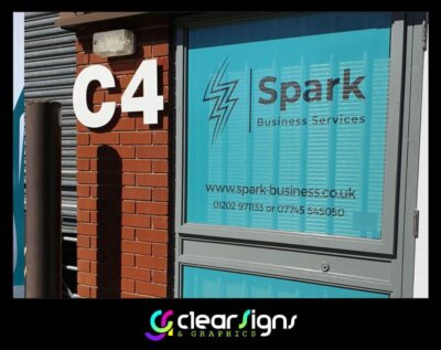 One Way Vision - Contra Vision - Widnows Graphics - Verwood - Dorset (1)