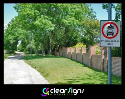 Private Road Sign (1)