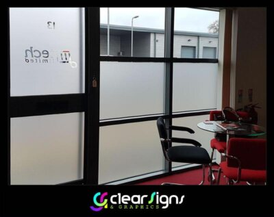 Windows, Window Graphics, Obscured Glass Film (1)