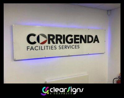 corrigenda sign