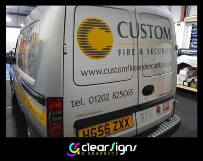 custom fire and security rear elevation 2