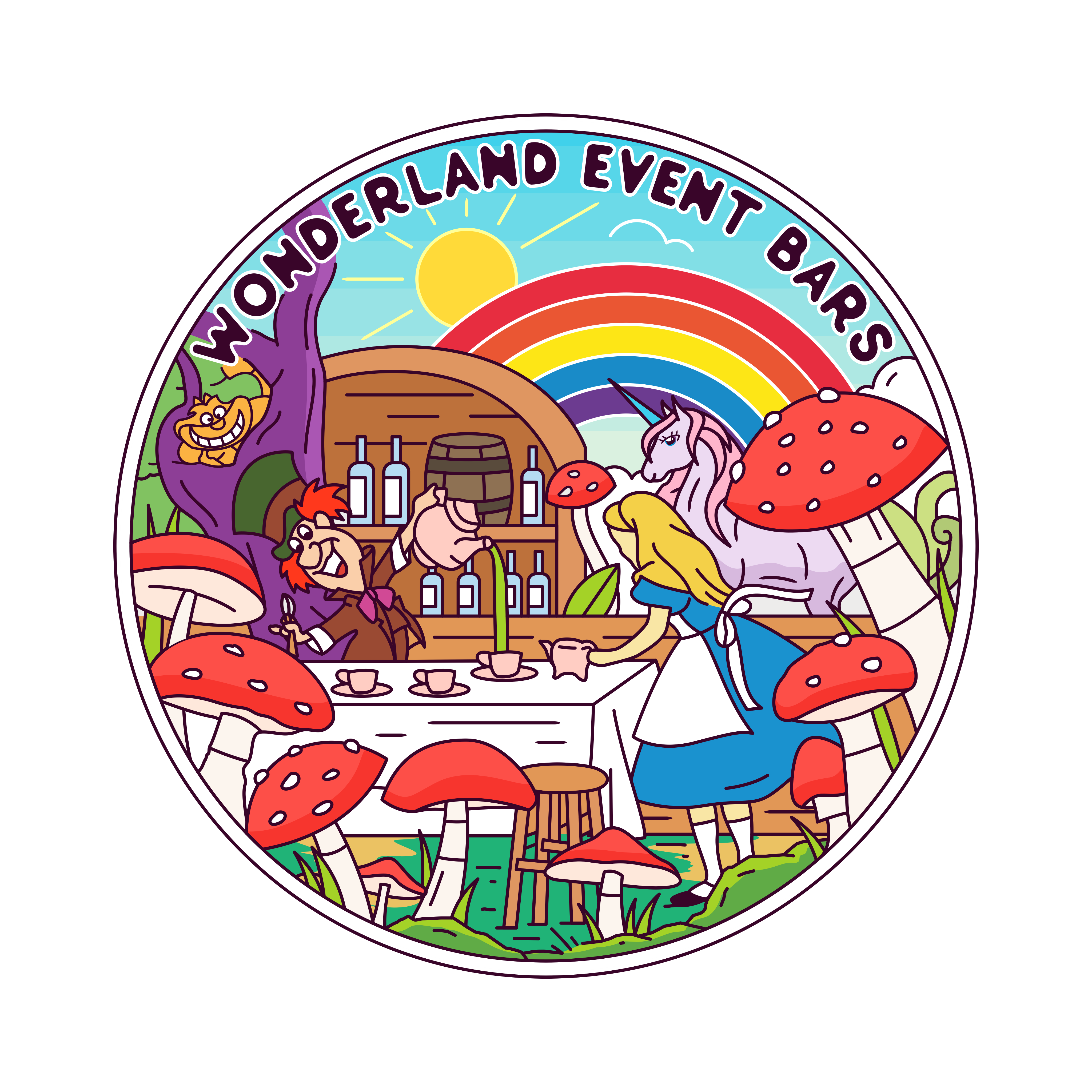 Wonderland Event Bars