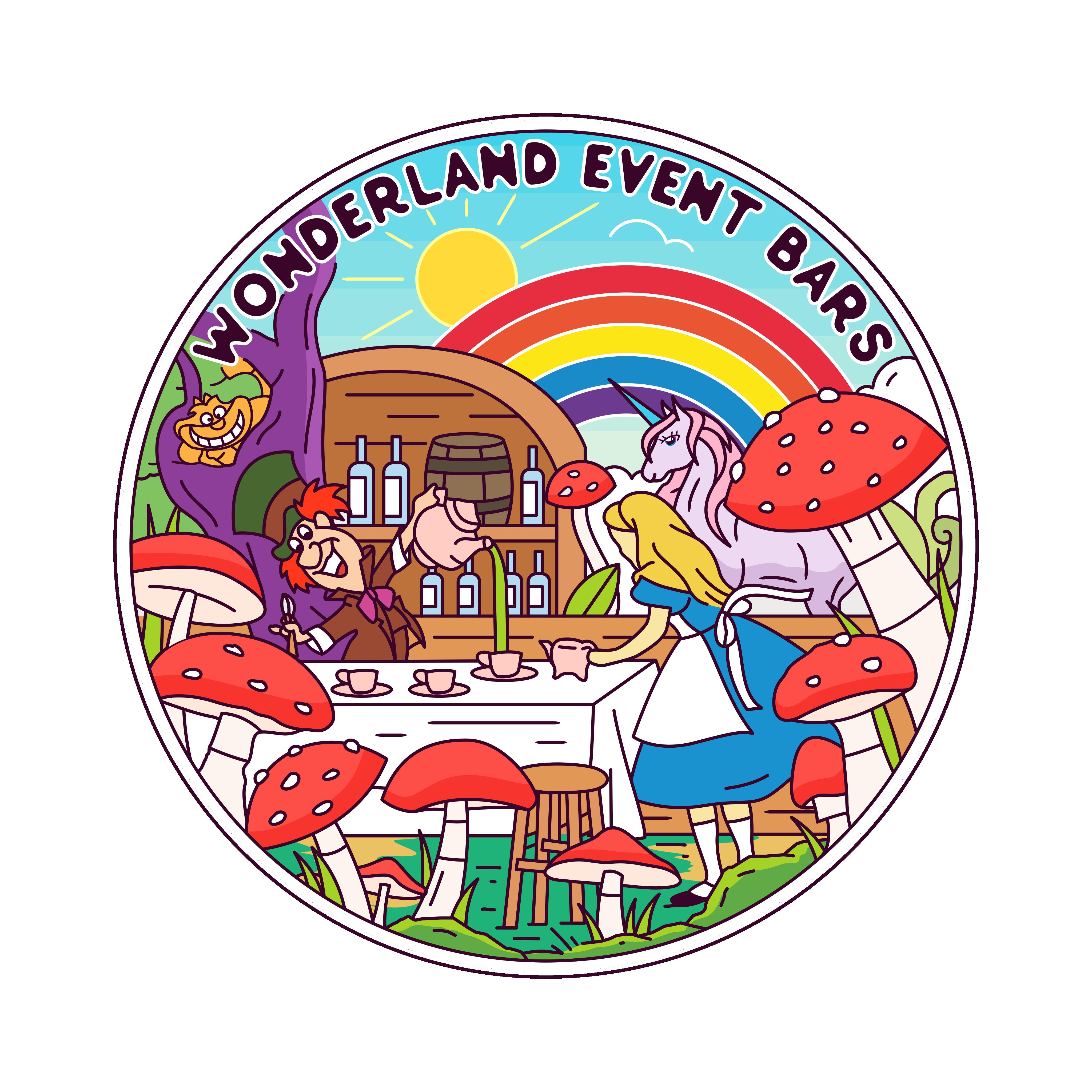 Wonderland Event Bars