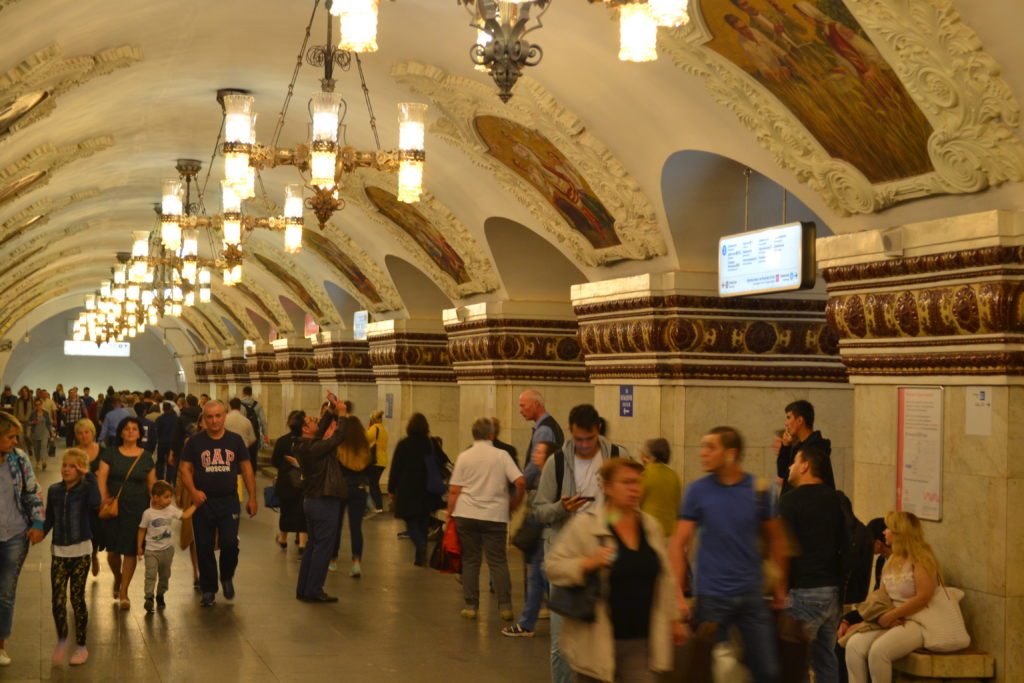 subway in Russia