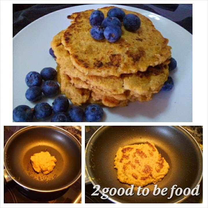 receta pancake sin gluten