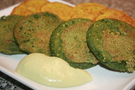 tortitas vegetales para tus recetas terapéuticas