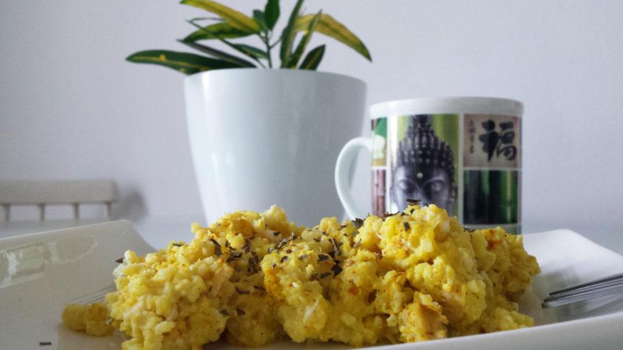 mijo con huevo para tus desayunos terapéuticos