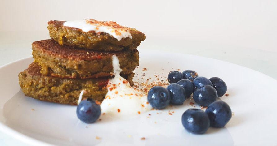 pancakes de teff para tus recetas terapéuticas