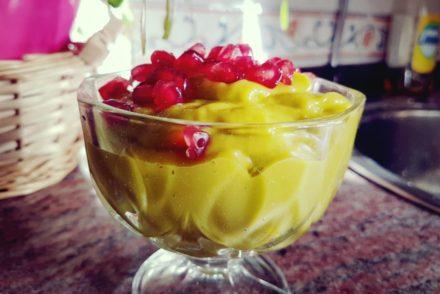 mousse de mango para tus recetas terapéuticas