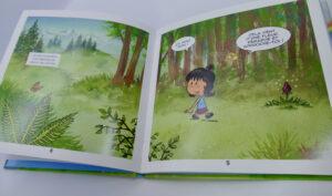 livre enfants Lucile Green