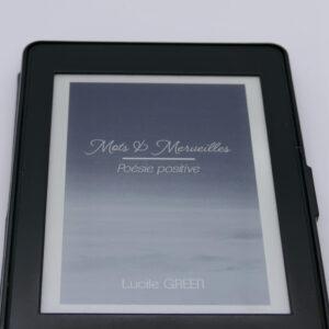 Recueil de poesie Mots et Merveilles ebook