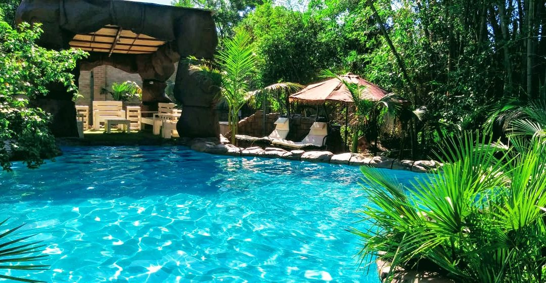 Exotic Swimming Pool in the Cradle of Humankind