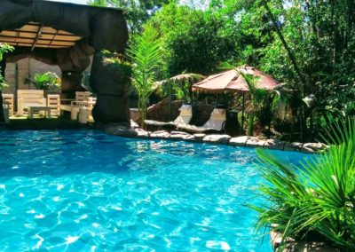 Tropical themed Swimming Pool