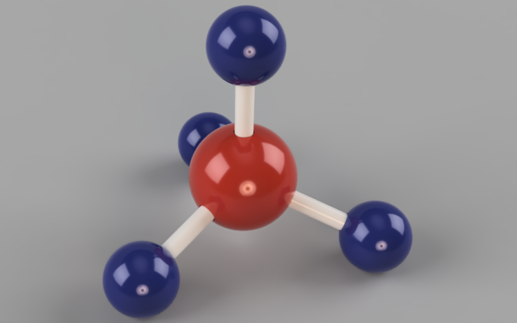 Methane Molecular Compound