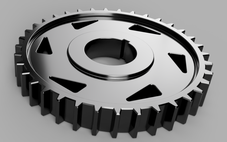 Design and Technology | Build a simple gear