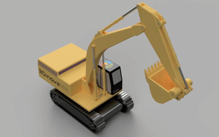 Machines   Excavator